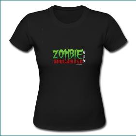 t-shirt zombie apocalypse