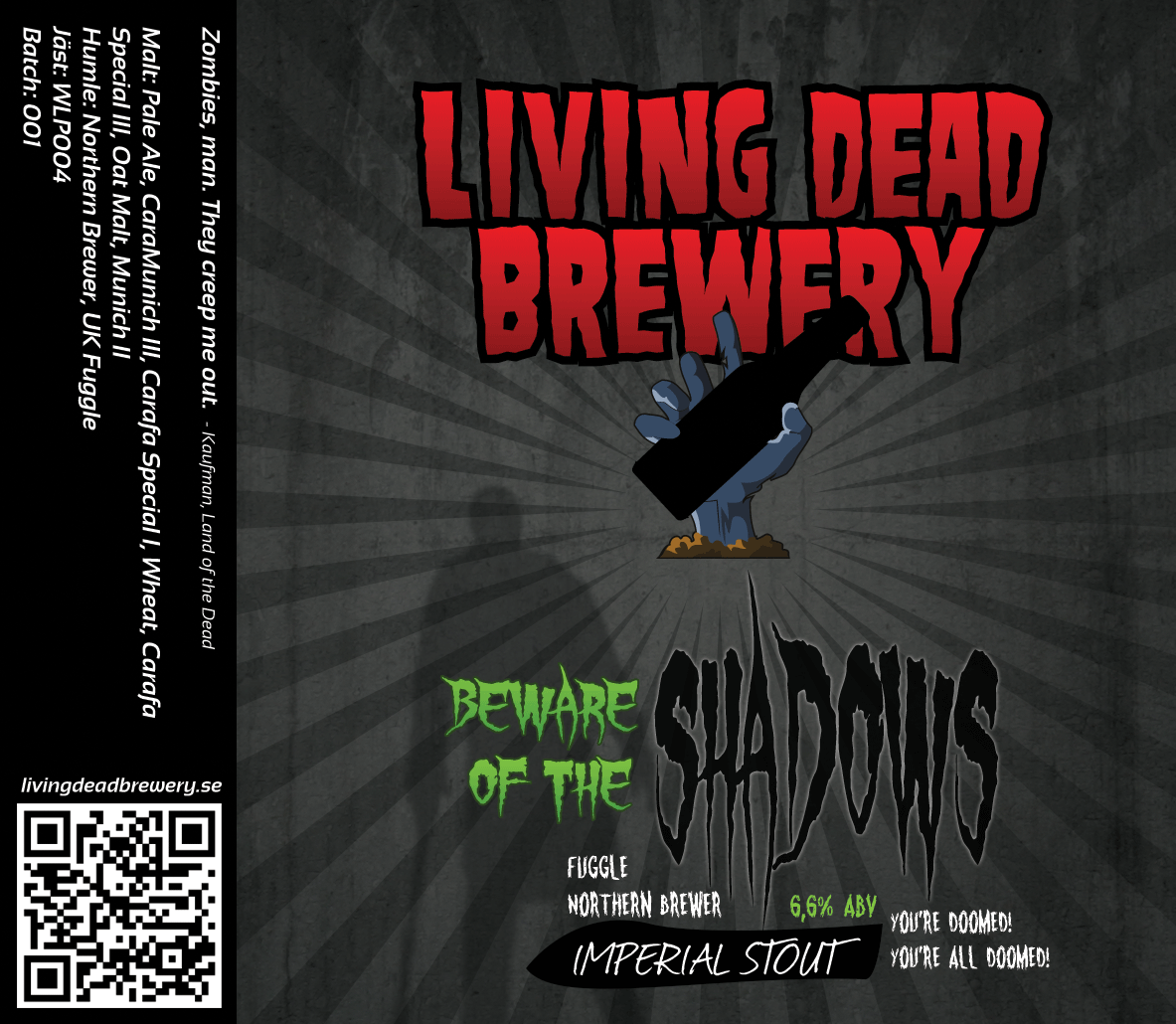 Beware Of The Shadows [Imperial Stout]