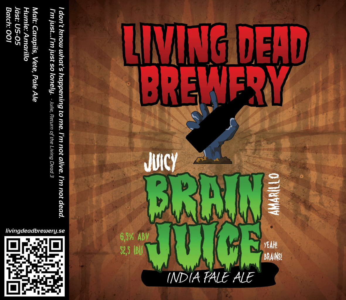 Brain Juice Amarillo [IPA]
