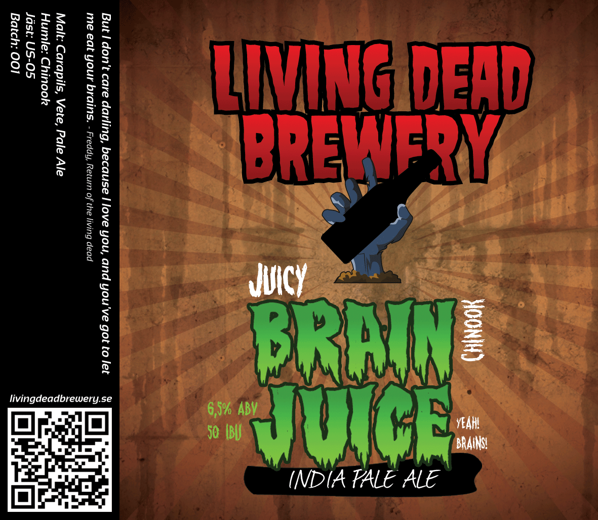 Brain Juice Chinook [IPA]