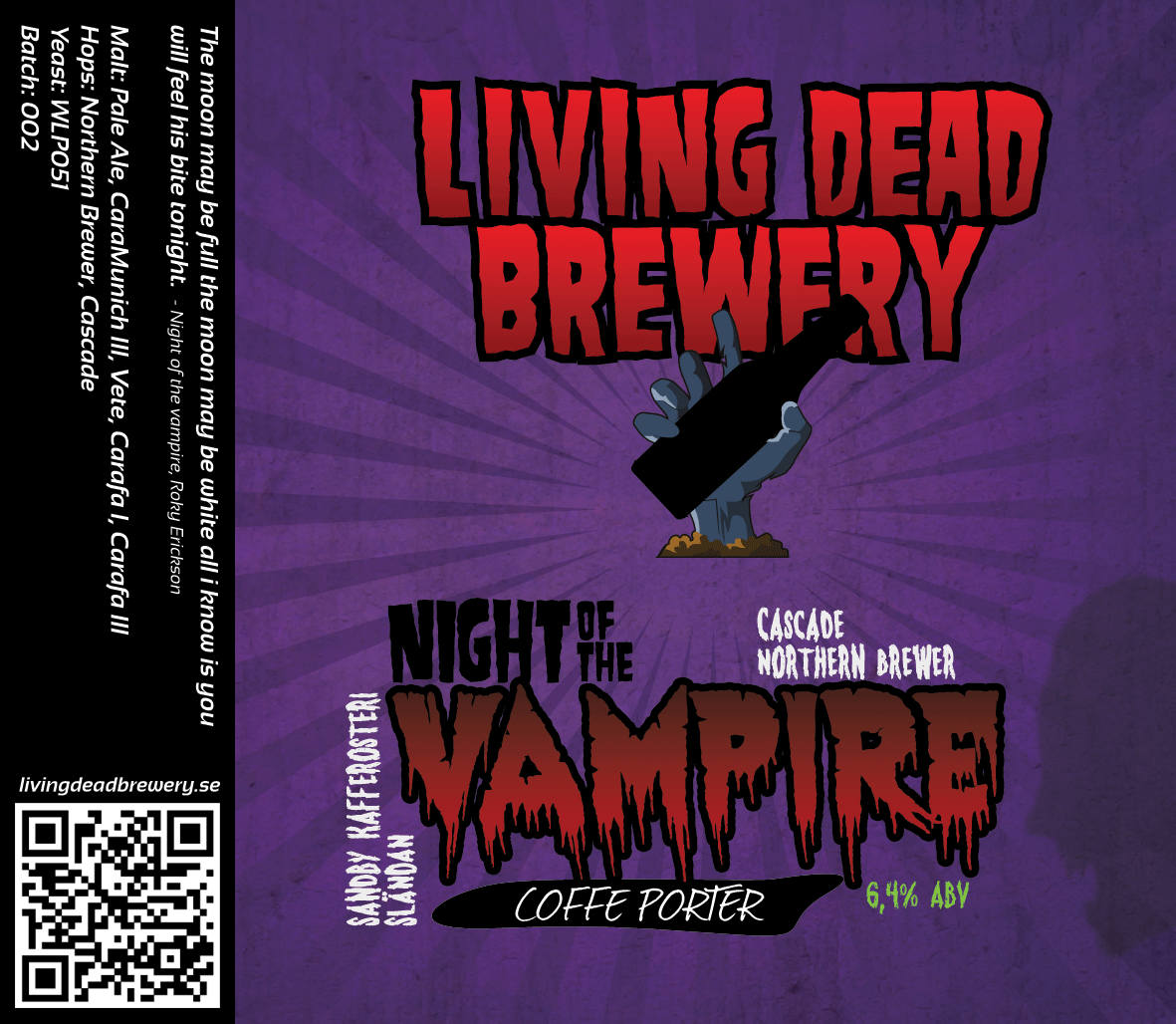 Night Of The Vampire [Coffee Porter]