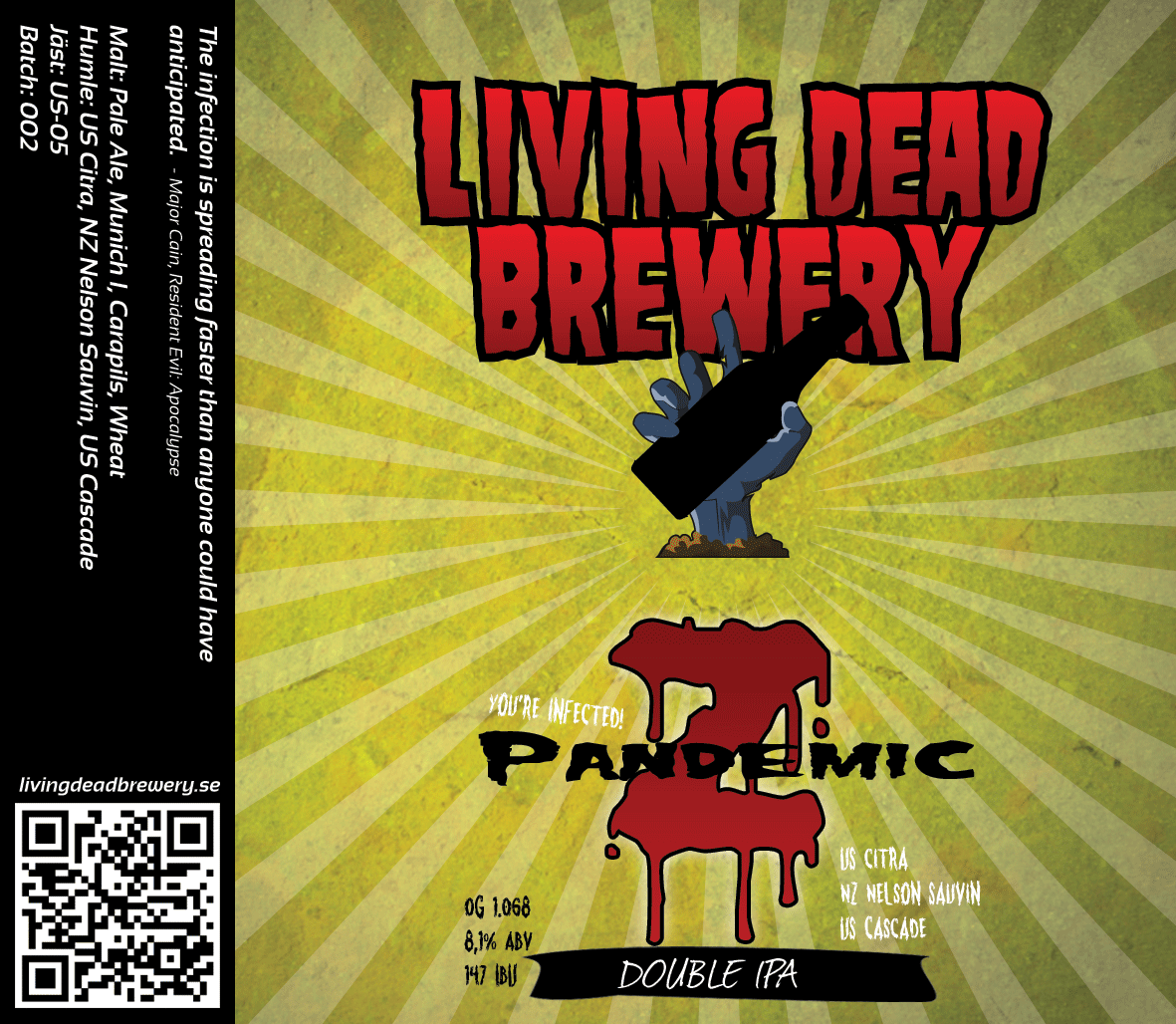 Pandemic Z [Double IPA]