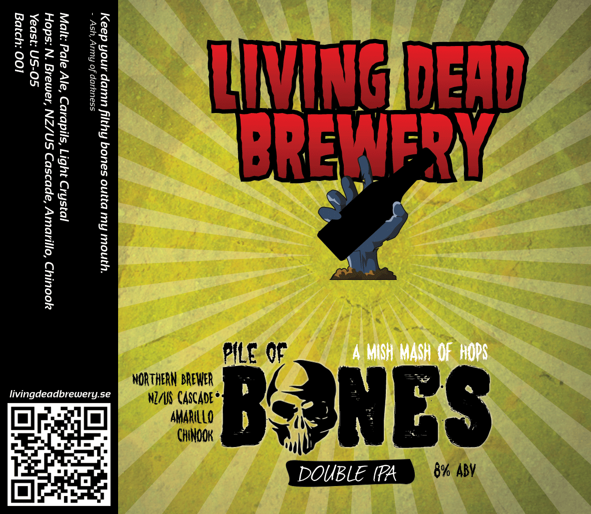 Pile Of Bones [Double IPA]