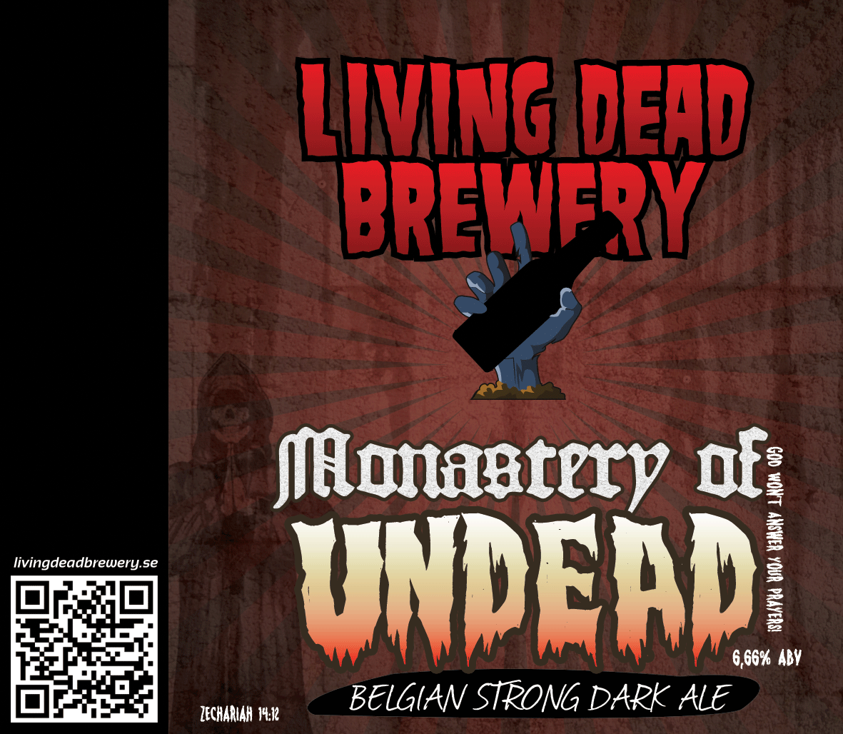 Monastery of Undead [Belgian Strong Dark Ale]